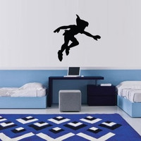 Peter Pan Vinyl Wall Decal nursery gifts, baby shower gifts, birthday gifts by etched dreams