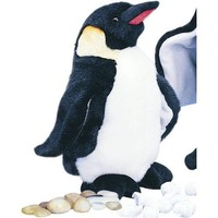 Plush Waddles Emperor Penguin 9""