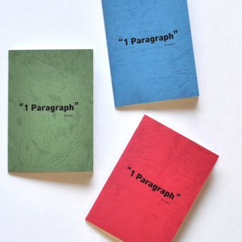 Mini One Paragraph Notebook Set