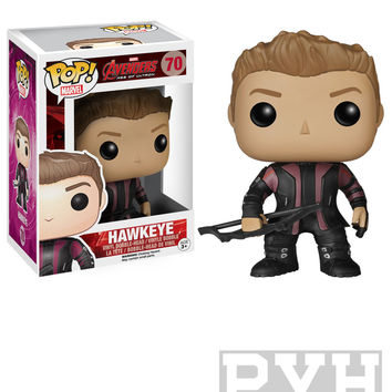 Funko Pop! Marvel: Avengers 2 - Hawkeye- Vinyl Bobble Head
