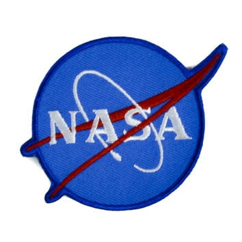 NASA Space Patch Iron on Applique Alternative Clothing