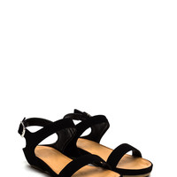 Strapping Good Buckled Sandals GoJane.com