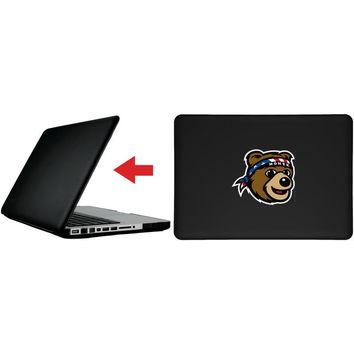 """Montana Grizzly Mascot Head design on MacBook Pro 13"""" with Retina Display Customizable Personalized Case by iPearl"""