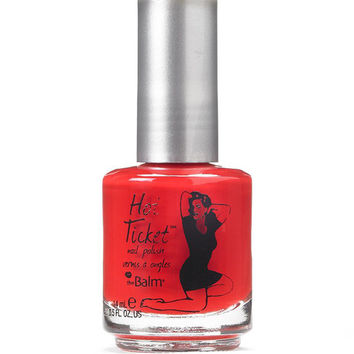 theBalm Hot Ticket Nail Polish: Red from Cover to Cover