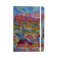 "Jeff Ferst ""Saguaros in Spring"" Blue Multicolor Everything Notebook"