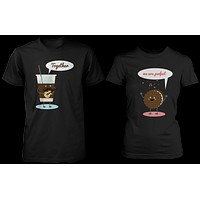 Ice Coffee & Cookie Together, We Are Perfect Matching Couple Shirts (his & hers Set)