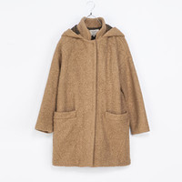 LARGE HOODED DUFFEL COAT - Trf - Coats - Woman | ZARA United Kingdom