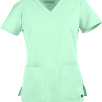 Grey's Anatomy Classic Fit Two Pocket Scrub Top | Barco Scrubs