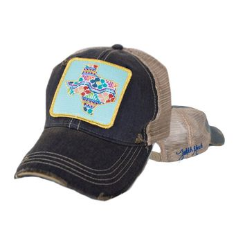 Judith March Patchwork Texas Patch - Navy