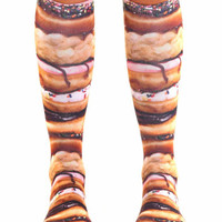 Living Royal | Living Royal - Stacked Donuts Knee Socks » West Of Camden