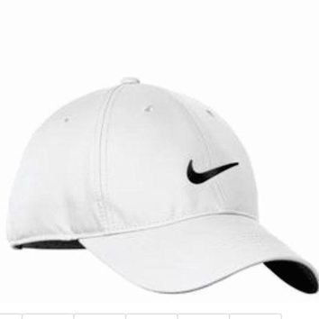 DCCKHQ6 NIKE GOLF NEW Adjustable Fit DRI FIT SWOOSH FRONT BASEBALL CAP HAT