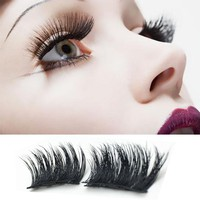 False Eyelashes with Magnetic Lash Extensions 1 Pair