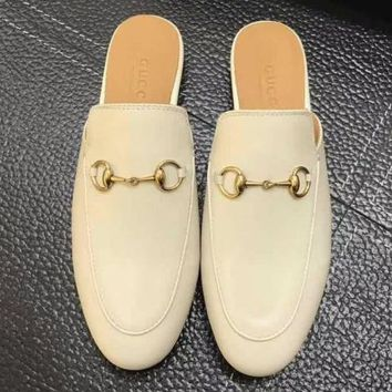 Gucci  Women Fashion Simple Casual  Slipper Mules