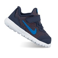 Nike Flex Experience 4 Toddler Boys' Running Shoes (Blue)