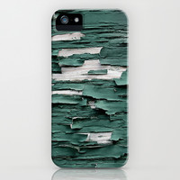 Green Paint III iPhone & iPod Case by Shy Photog