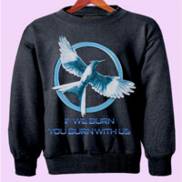 The Hunger Games Mockingjay Crewneck
