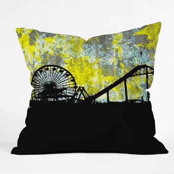 Amy Smith Santa Monica Ca Throw Pillow