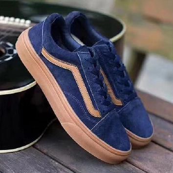 shosouvenir VANS fashion casual shoes blue