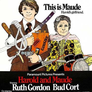 Harold and Maude (UK) 27x40 Movie Poster (1971)