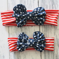 Mommy & Me America Headbands