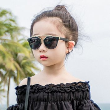 KOTTDO Metal frame kids Sunglasses girls boys glasses Eyewear baby children sunglasses uv400 Sun glasses oculos infantil