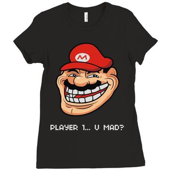 player 1 (2) Ladies Fitted T-Shirt
