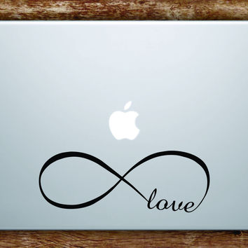 Infinite Love Laptop Decal Sticker Vinyl Art Quote Macbook Apple Decor Infinity Sign Tattoo