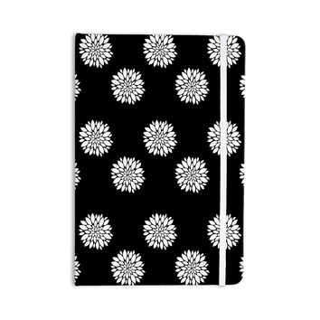"Suzanne Carter ""Peony Rose"" Black White Everything Notebook"