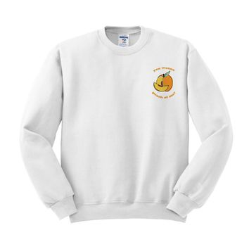 Peach Of Me Sweatshirt
