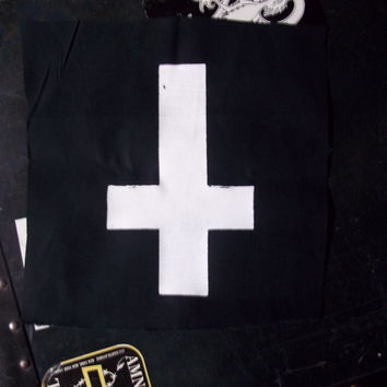 Inverted Cross 5x7 Patch