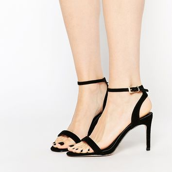 ASOS HOORAY Wide Fit Heeled Sandals