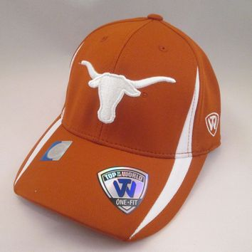 Texas Longhorns Top of The World Fitted Hat