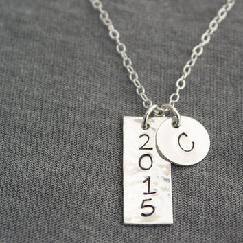 Sterling Silver Initial Custom Necklace