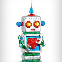 Large Robot Love Ornament | PLASTICLAND