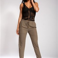 Olive Green Trousers