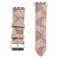 Designer Rose Coach Apple Watch Band
