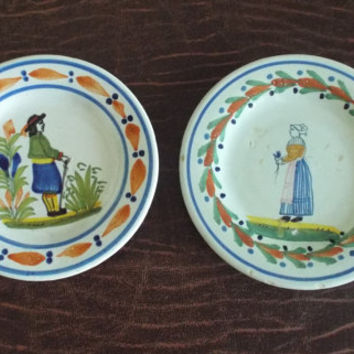 QUIMPER France Malicorne Faience Early Years