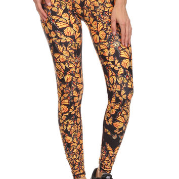 Attack of the Monarchs Dream Leggings