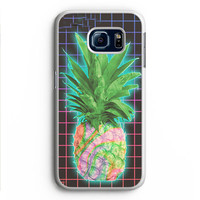 Aesthetics Pineapple Grid Samsung Galaxy S6 Edge Plus Case Aneend