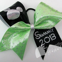 Summit inspired Cheerleader Hair Bow by SamanthasHats on Etsy