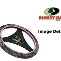 Mossy Oak Pink Camo Car Truck SUV Neoprene Steering Wheel Cover