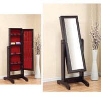 Lily Cheval Mirror with Jewelry Holder | Overstock.com