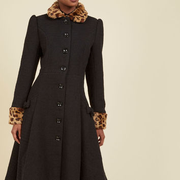 Golden Age of Glam Coat | Mod Retro Vintage Coats | ModCloth.com