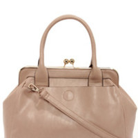 It's a Snap Taupe Handbag