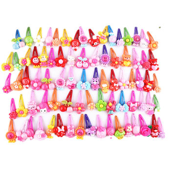 10 Pcs/lot Catoon BB Clips Kids Hair Baby Girls' Hairpin & Ropes Children accessories