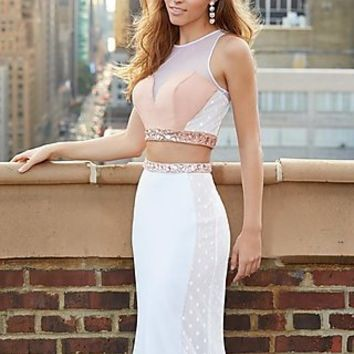 Two Piece Madison James Prom Dress