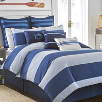Southern Tide Dock Street Striped Comforter Set | Dillards