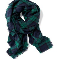 Oversized Flannel Scarf | Old Navy