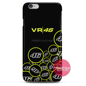 Valentino Rossi VR46 Forty Six Motogp iPhone Case 3, 4, 5, 6 Cover