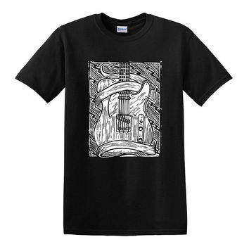 FENDER TELECASTER GUITAR T-shirts - Tele Tee Electric Guitar shirt - Small, Medium, Large, Extra Large, 2XL, 3XL, 4XL, 5XL